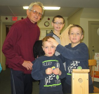 Bird Houses with Mr. Immohr