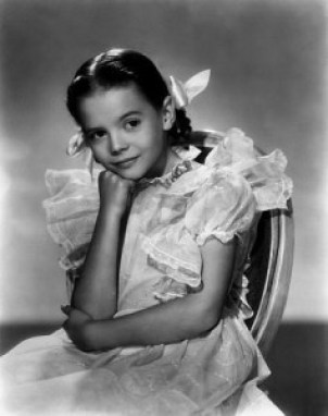 Natalie Wood as a child