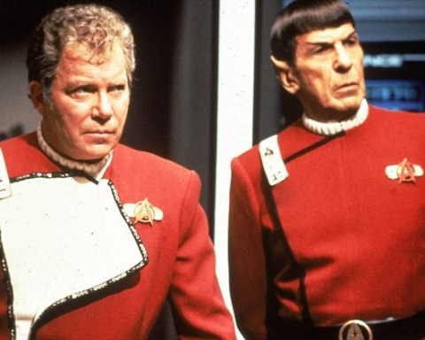 Kirk and Spock, Star Trek The Undiscovered Country