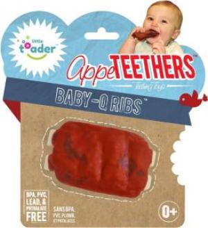 Start the baby early with these baby-q teething ribs