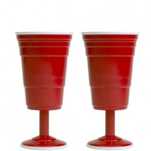 Breakable, BPA free, red cup style wine cups perfect for any barbecue