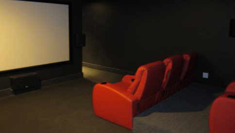 Castle Braid's illustrious screening room