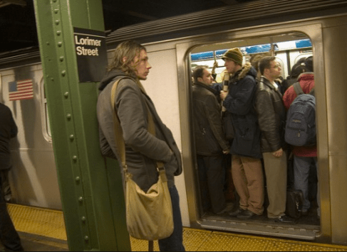 Lorimer means you're probably just trying to get to the G train