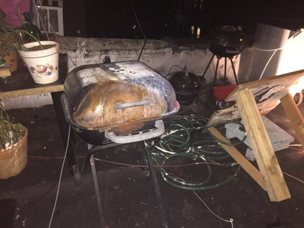 A barbeque graveyard grows in Bushwick