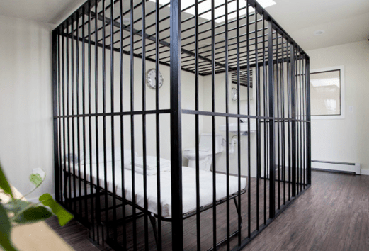 You can no longer rent out this cage in Bushwick
