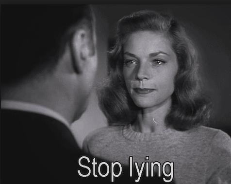 Bacall to Bogart