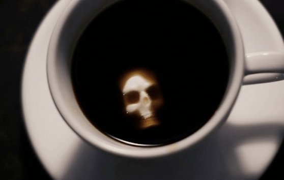 Drink Caffaine coffee at your own risk