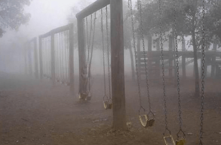 Creepy swing set to be installed at Maria Hernandez