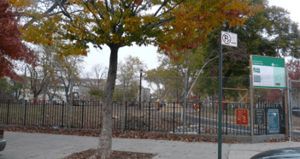 Irving Square Park has officially become the new Maria Hernandez Park