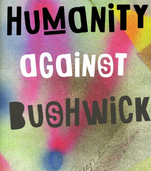 A Bushwick Against Humanity card