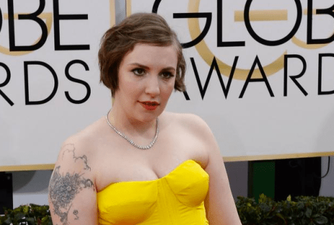 Dunham's taste for the superficial was solidified at the Golden Globes