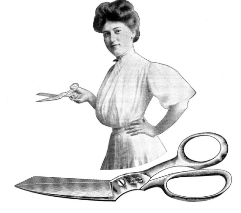 Scissors, rife with sexual connotations