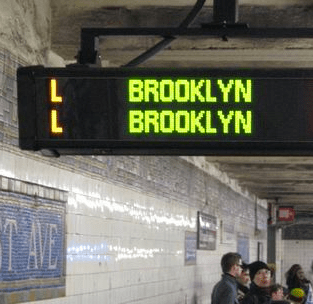 The L train waits for no one