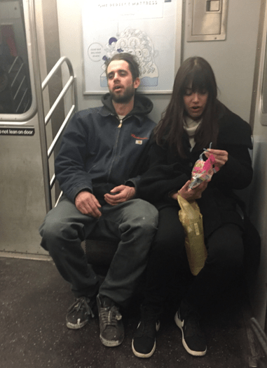 Stereotype #1: The gross couple