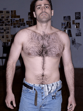 Hairy guy from Schlubs of the Shwick calendar