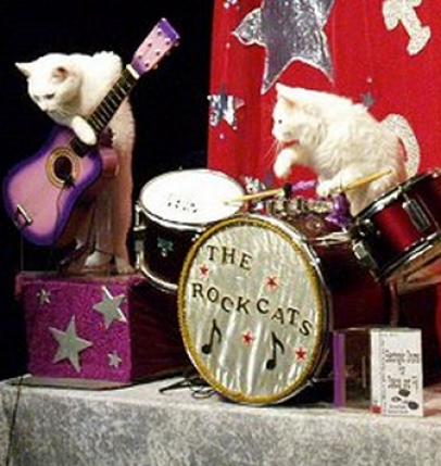 Cats will be showing off musical stylings, among other talents