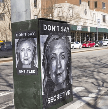 Reactions to the Clinton campaign have been mixed in Bushwick