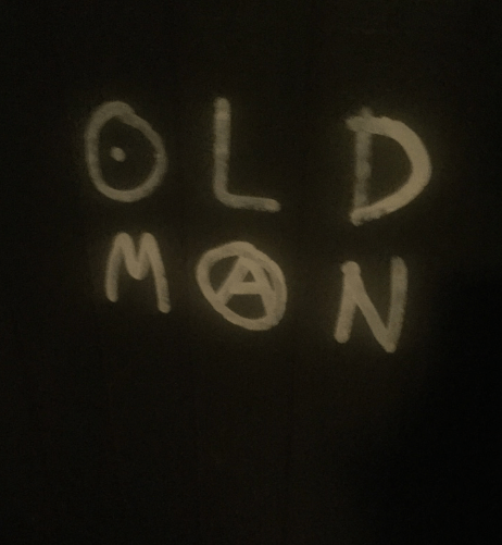 The tag urges anarchy against ageism