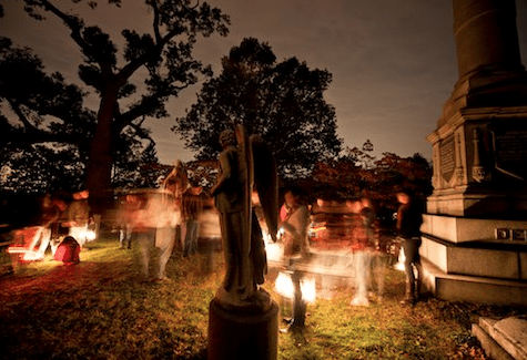Cemeteries will provide a new source of interest in Sleepy Hollow come Halloween