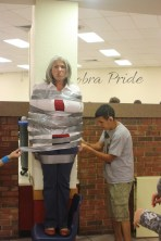 One of our APs got duct taped to the wall.