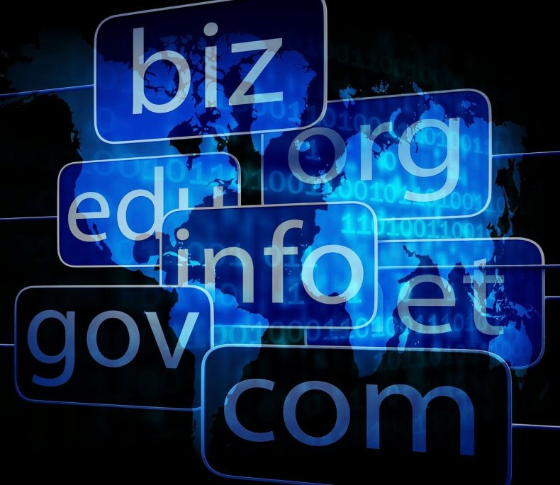 domain names to build a website on your own