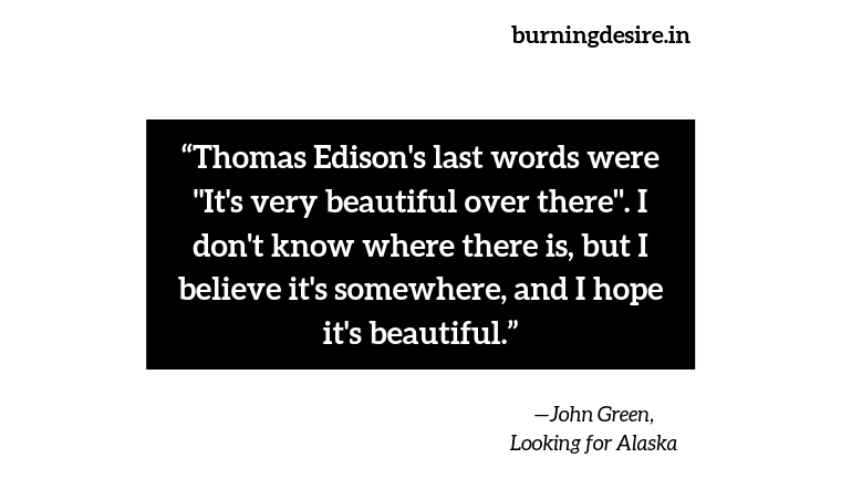 quotes by John Green