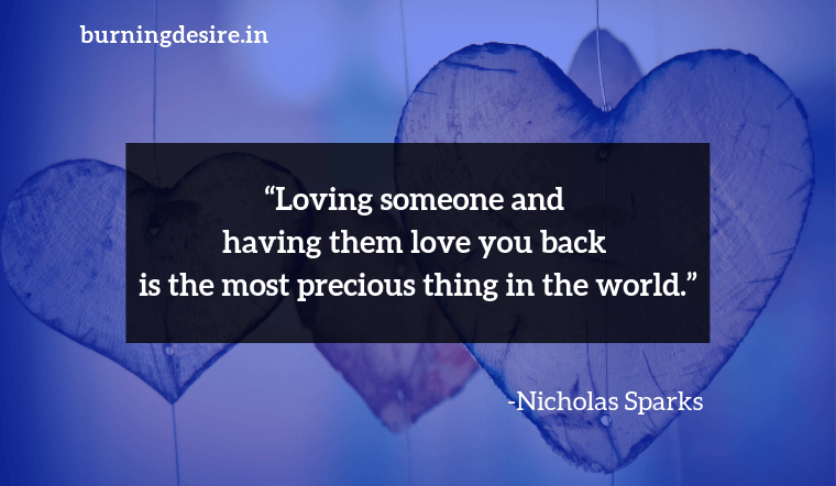 romance quotes by Nicholas Sparks