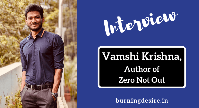 Author Vamshi Krishna Interview
