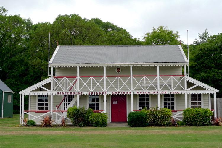 Canterbury Cricket Umpires Pavilion