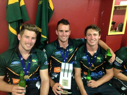 Central Stags Ford Trophy Winners 2015
