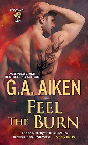 Review - Feel the Burn by G.A. Aiken
