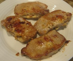 Stuffed Gouda and Bacon Pork Chops