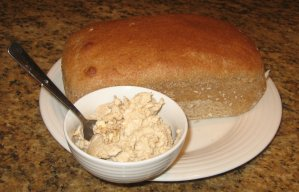 Whole Wheat Bread and Cinnamon Butter
