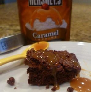 Secret Snickers Brownies