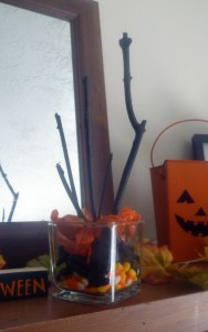 Five Minute Halloween Decoration