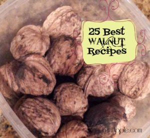 walnut recipe