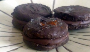 Dark Chocolate Thin Mints–a Scharffen Berger Entry
