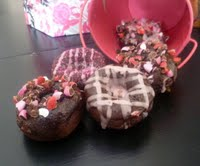 valentines day donuts