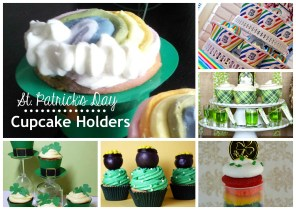 {Trying it Tuesday} St. Patrick's Day Cupcake Holders