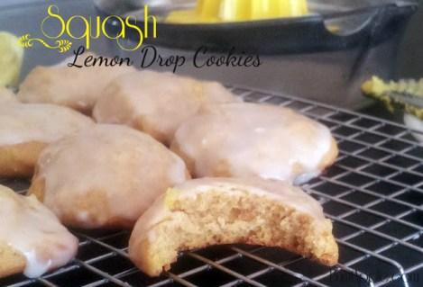 Squash Lemon Drop Cookies