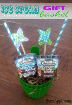 DIY Ice Cream Gift Basket
