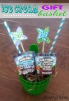DIY Ice Cream Gift Basket