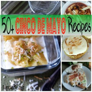 Fifty Cinco de Mayo Recipes {2013 Edition}