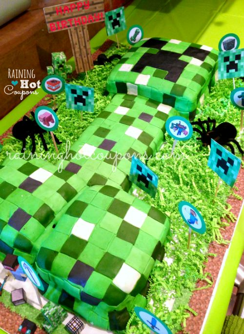 easy minecraft cake pops