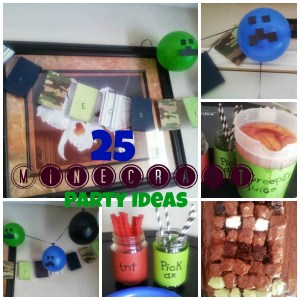 25 Minecraft Birthday Party Ideas