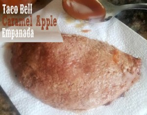 Taco Bell Caramel Apple Empanadas
