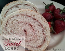 Under an Hour Cinnamon Swirl Bread