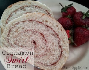 Under an Hour Cinnamon Swirl Bread
