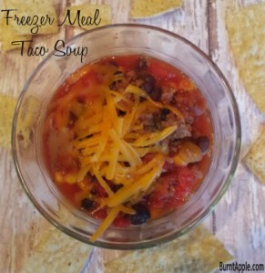 {Freezer Meal} Taco Soup
