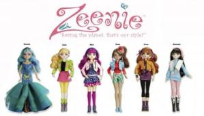 Giveaway: Ecofriendly Zeenie Dollz!
